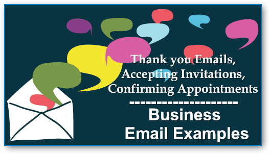 business email examples thank you emails accepting invitations confirming appointments