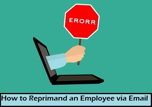 How to Reprimand an Employee via Email