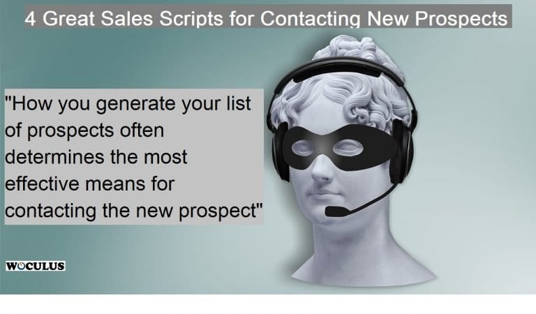 4 Great Sales Scripts for Contacting New Prospects on the Phone