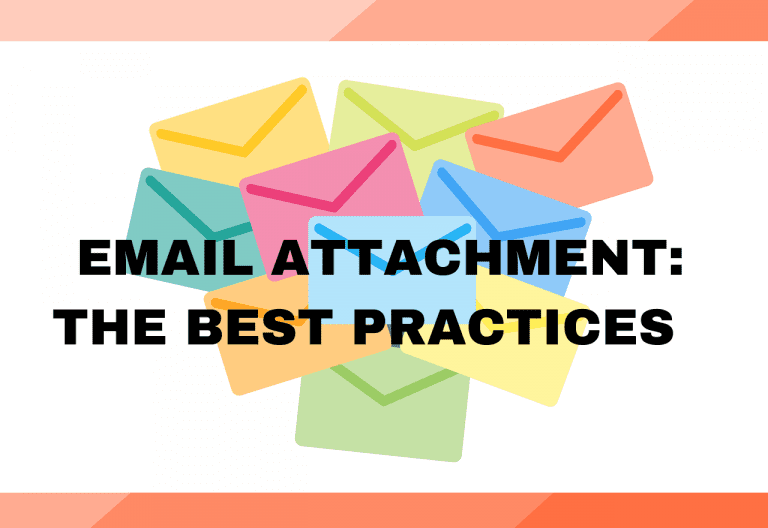 Email attachment: The Best Practice
