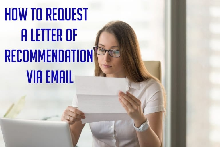 How to Request a Letter of Recommendation Via Email