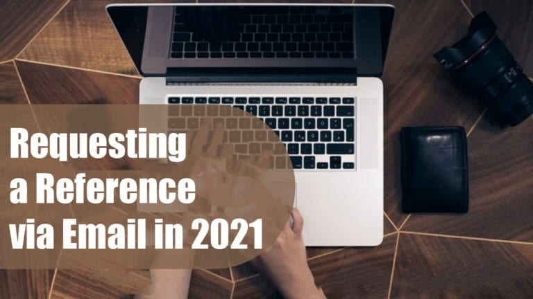 How to Request a Reference via Email (With Sample)