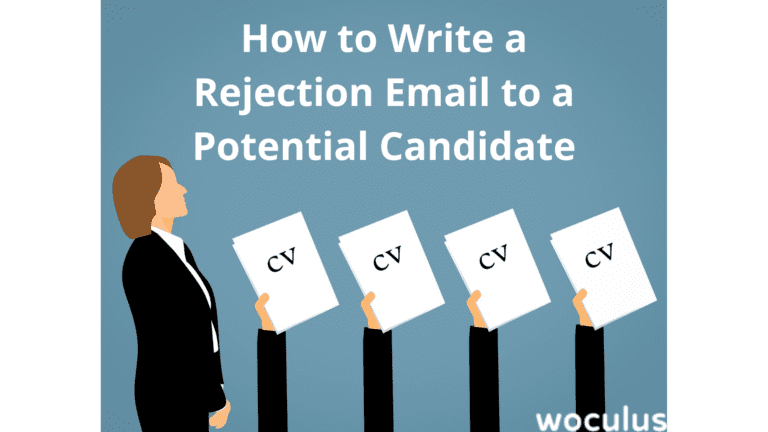 How to Write a Rejection Email to a Potential Candidate
