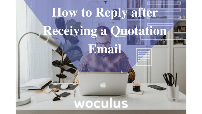 How to Reply after Receiving a Quotation Letter